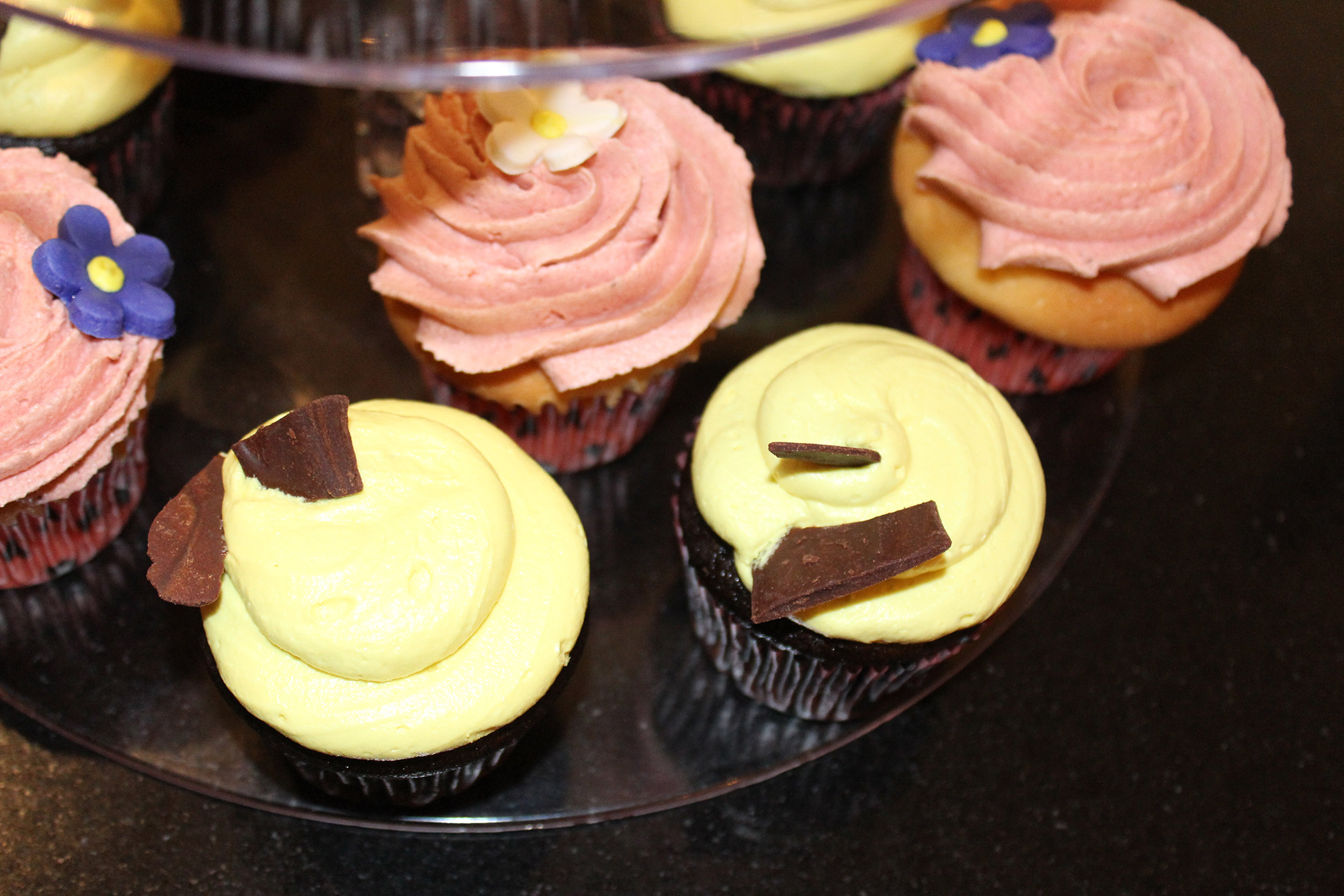 Royal Tea and Treatery Cupcakes