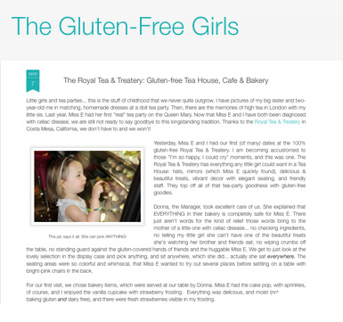 The Gluten Free Girls