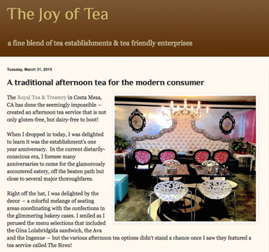 The Joy of Tea